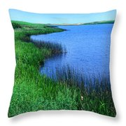 Lake Of The Shining Waters Throw Pillow