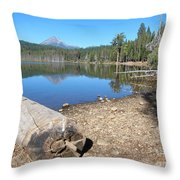 Lake Of The Woods 6 Throw Pillow