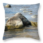 Lake Of The Woods Throw Pillow