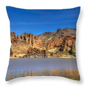 Lake Owyhee Throw Pillow