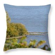 Lake Pepin Throw Pillow