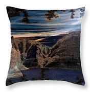 Lake Powell Utah Throw Pillow