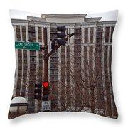 Lake Shore Drive Condos Throw Pillow
