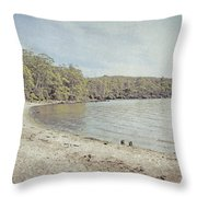 Lake St. Clair In Tasmania Throw Pillow