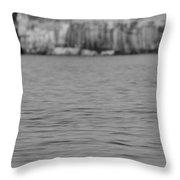 Lake Superior At Pictured Rocks Throw Pillow