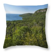 Lake Superior Grand Portage 2 Throw Pillow