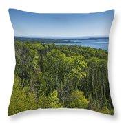 Lake Superior Grand Portage 3 Throw Pillow