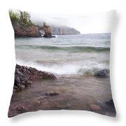 Lake Superior Tettegouche 2 Throw Pillow
