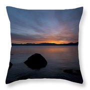 Lake Tahoe Dawn Throw Pillow