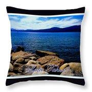 Lake Tahoe Magic Throw Pillow