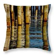 Lake Tahoe Reflection Throw Pillow