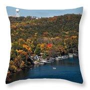 Lake Taneycomo Throw Pillow