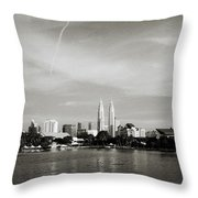 Lake Titiwangsa Throw Pillow