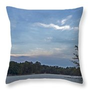 Lake Tranquility Throw Pillow