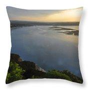 Lake Travis Sunset Throw Pillow