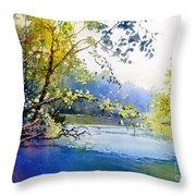 Lake View 2  Throw Pillow
