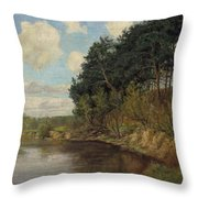 Lakeland In Berlin Throw Pillow