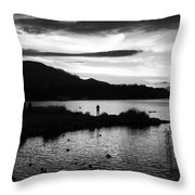 Lakes Of Killarney View Throw Pillow