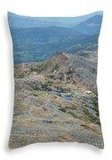 Lakes Of The Clouds - Mount Washington New Hampshire Usa Throw Pillow