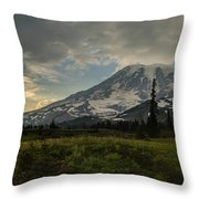 Lakes Trail Soaring Skies Throw Pillow