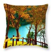 Lakeshore Lane Throw Pillow