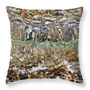 Lakeshore Rocks 2 Throw Pillow