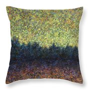 Lakeshore Sunset Throw Pillow