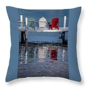 Lakeside Living Number 2 Throw Pillow