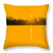 Lakeside Tower Throw Pillow