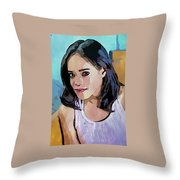 Lakisha Lee Throw Pillow