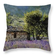 Lala Vanda Throw Pillow