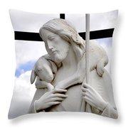 Lamb Of God Jesus Christ Torso Throw Pillow