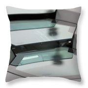 Lambo Engine Cover Detail Throw Pillow