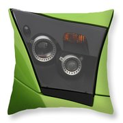 Lamboheadlight8695 Throw Pillow