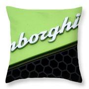 Lambologo8665 Throw Pillow