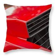Lamborghini Countach Intake Throw Pillow