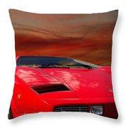 Lamborghini Starting Dream Throw Pillow