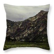 Lamoille Canyon End Throw Pillow