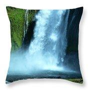 Lamolo Falls Bowl Throw Pillow