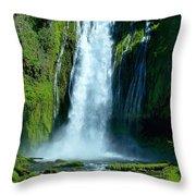 Lamolo Falls Throw Pillow