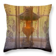 Lamp Light Glow Throw Pillow