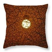 Lamp Tangle Throw Pillow