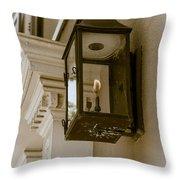 Lamp Unto My Feet Throw Pillow