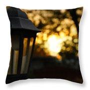 Lamplight Throw Pillow