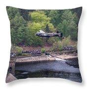 Lancaster Bomber 70th Anniversary Flypast Throw Pillow