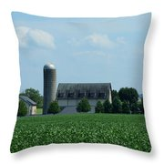 Lancaster Co Farm   # Throw Pillow