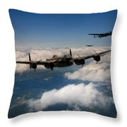 Lancaster Formation  Throw Pillow