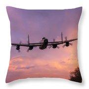 Lancaster Sunset Throw Pillow