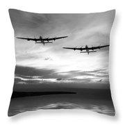 Lancasters Return Mono Version  Throw Pillow