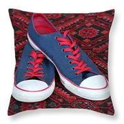 Lance's Shoes Throw Pillow